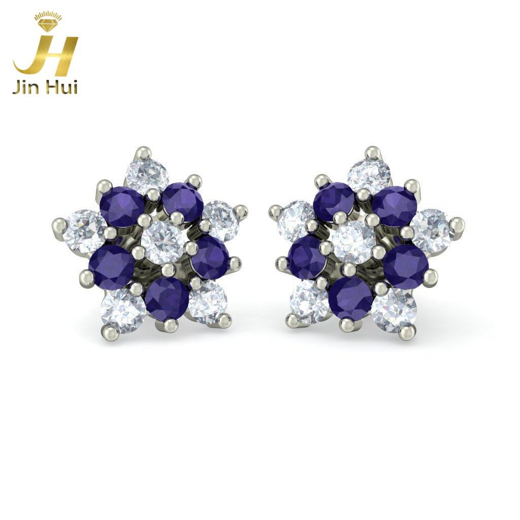 Jinhui Joyance 18K 750 0,384 CT Iolite JH-BS2691 jinhui dhwani 18k 750 0 08 jh bs4576