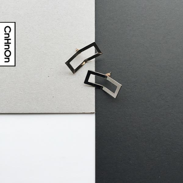 [Minimal series] Design models flap earrings. Design models earrings. Flap earrings.(China (Mainland))