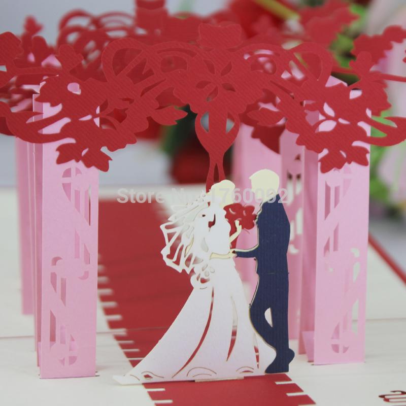 Strange new 3D stereoscopic creative handmade greeting cards birthday hollow diy wedding love holiday greeting cards Universal(China (Mainland))