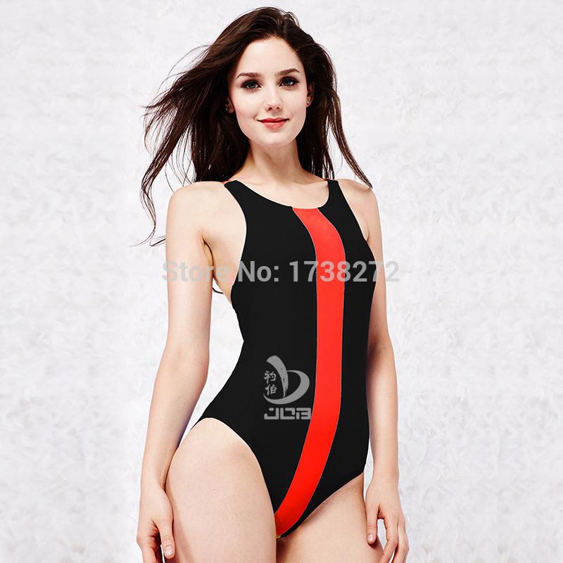 Black And Orange Women's Triathlon Tri Bodysuits One-piece Suits Backless Suspender Professional Sportswear Swimwear 502040F(China (Mainland))