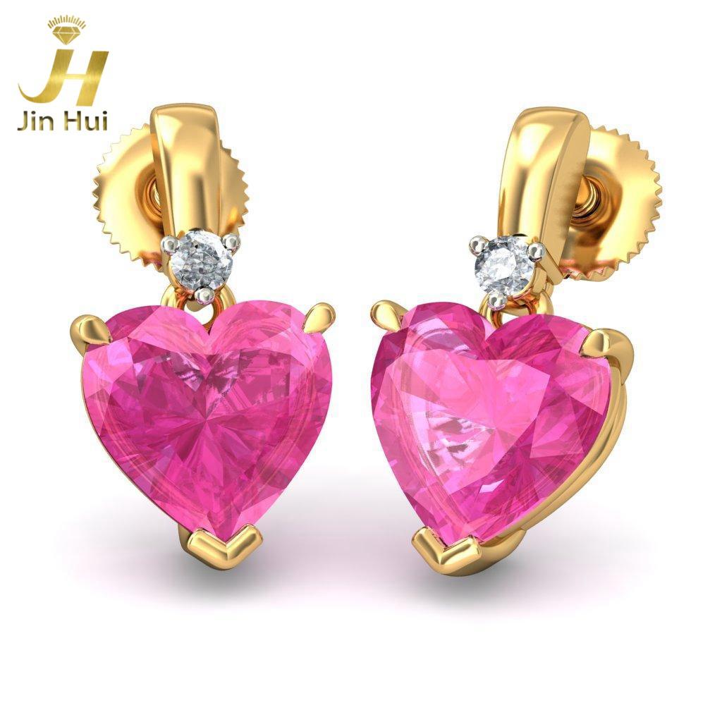 Jin Hui Jinhui Ersilia 18K 750 0,04 CT JH-BS1171 jinhui dhwani 18k 750 0 08 jh bs4576