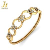 Jinhui унисекс янтарные серьги твердых 18k белое 750 золотых 1,146 ct природных алмазов ювелирные изделия бесплатно гравировки