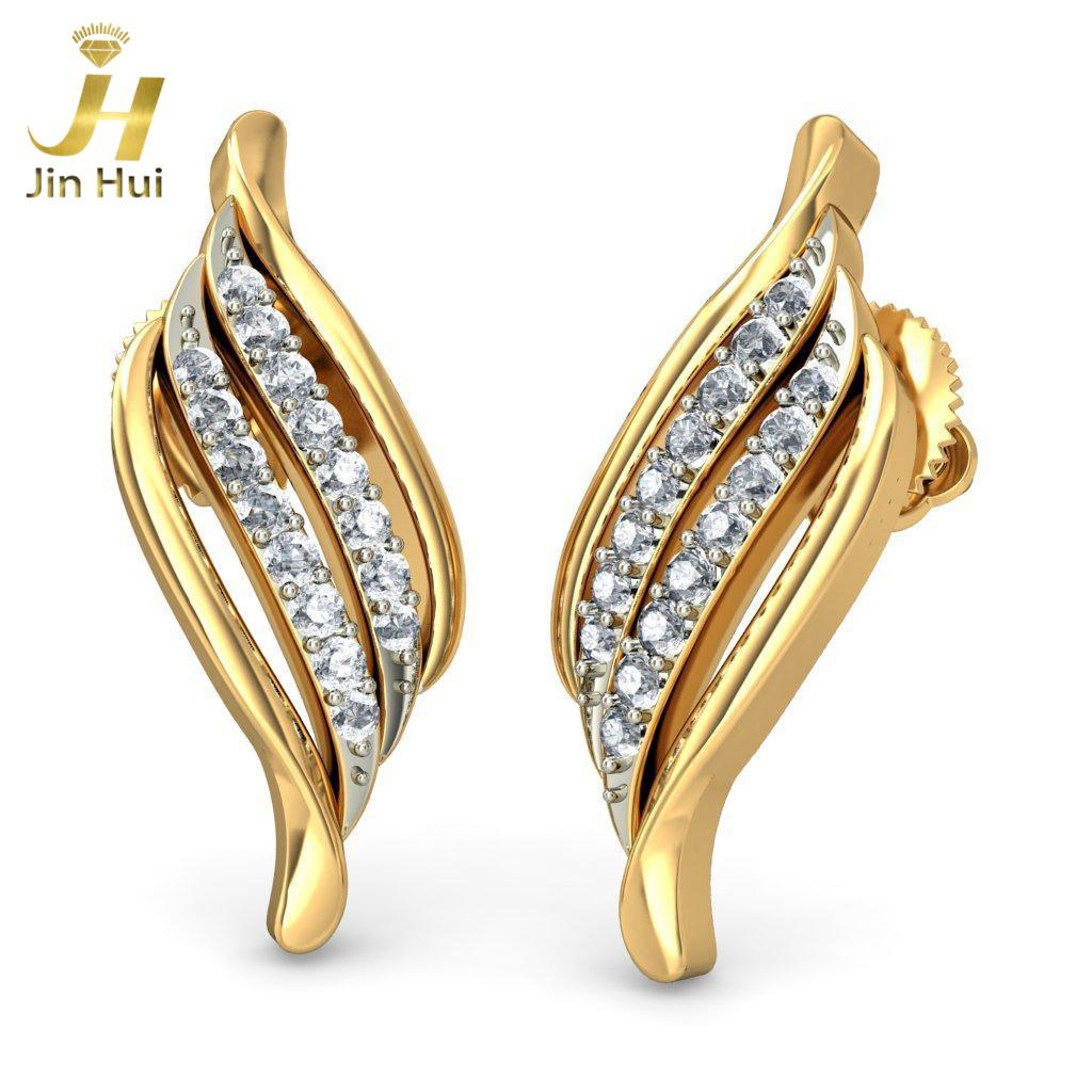 Jinhui 14K 585 0,176 CT JH-BS1929 jinhui dhwani 18k 750 0 08 jh bs4576