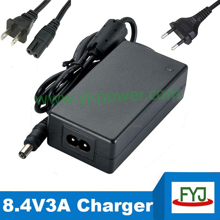 все цены на  Зарядное устройство YONGJIA POWER 8.4V 3a 8.4V 8.4V lipo 8.4v3a YJP-0840300  онлайн
