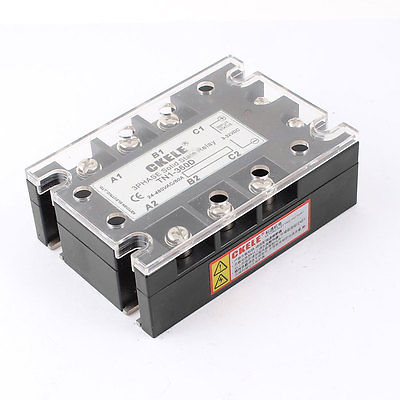 AC24-480V 60A DC3-32V 3Phase TN1-360D Solid State Relay w Indicator Light(China (Mainland))
