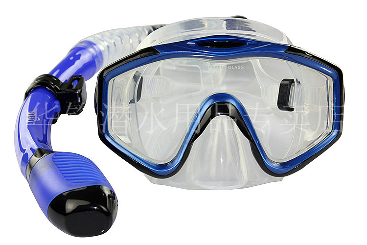 BEST SELLING !!!Scube diving set diving mask goggles with tempering glass wide view submersible diving equipment snorkel(China (Mainland))