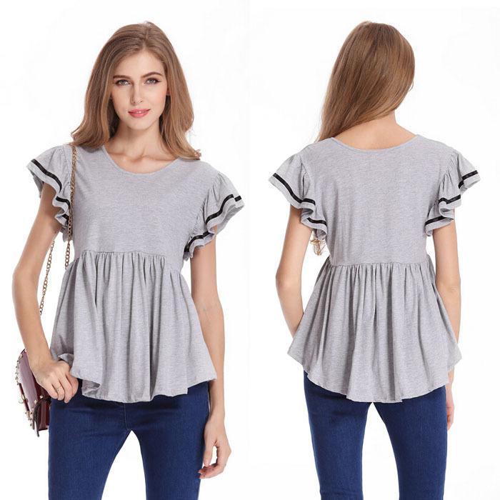 Женская футболка YF t o 2015 Camisetas l/4xl ZZS1908 2015 yf sh305012