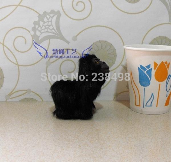 Free shipping 1pcs/lot King Kong Fur toys orangutans monkey stuffed animals kids gifts Animal planet Mini Toy(China (Mainland))