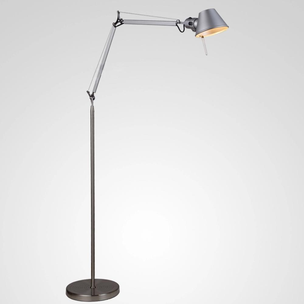 Modern Floor Lamp 1.5M Aluminum Hat Shape Office Lighting Standing Lamp Read/Piano E27 Expansible Foyer/Study Decoration Lights(China (Mainland))
