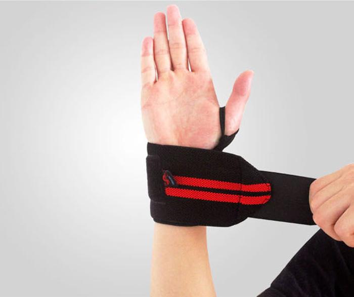 Austodex Weight Lifting Gym Training Wrist Support Straps Wraps Bodybuilding 8.5(China (Mainland))