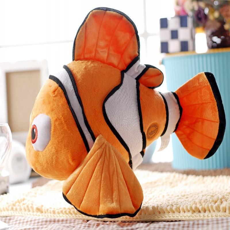 "Finding Nemo 1pcs 9"" Movie 24cm Cute Clown Fish Stuffed Animal Soft Plush Toy Plush Doll(China (Mainland))"