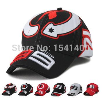 F1 racing Car logo cap Motocycle Racing MOTO GP Jorge Lorenzo 99 Embroidery Sport Baseball Cap Hat Wholesale cotton(China (Mainland))