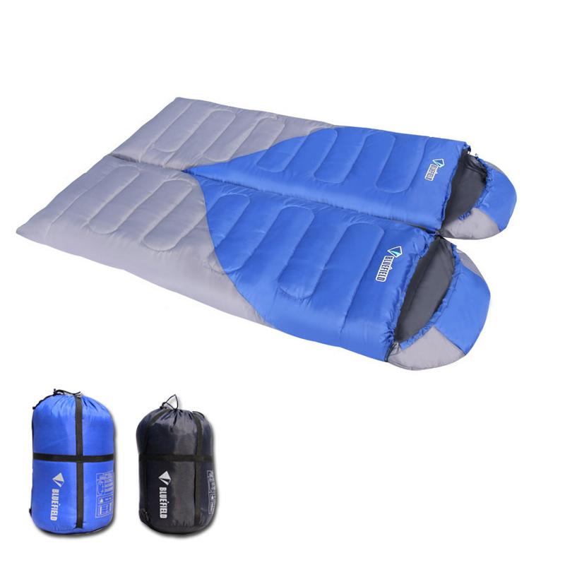 camping ultralight sleeping bag waterproof double sleeping bags lightweight for backpacking 3 seasons zero degree sleeping bag(China (Mainland))