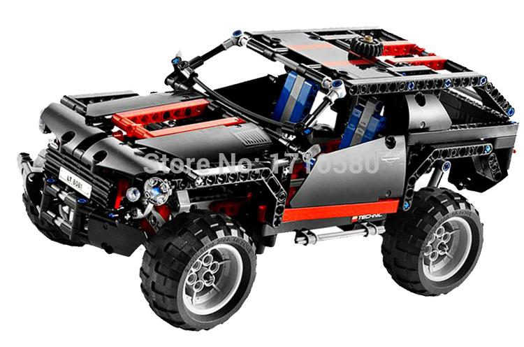 Decool 3341 font b Technic b font Transport Cruiser SUV Building Blocks Sets Model Educational DIY