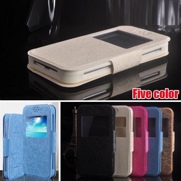 Gigabyte GSmart Guru G1 Case, Universal Flip PU Leather Book Stand Soft Back Cover Phone Cases for Gigabyte GSmart Guru G1(China (Mainland))