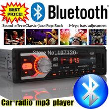 2015 новых автомобилей радио bluetooth автомобильного аудио авто стерео функции голубой зуб AUX-IN MP3 FM USB 1 Din ж / пульт дистанционного управления в тире 12 В