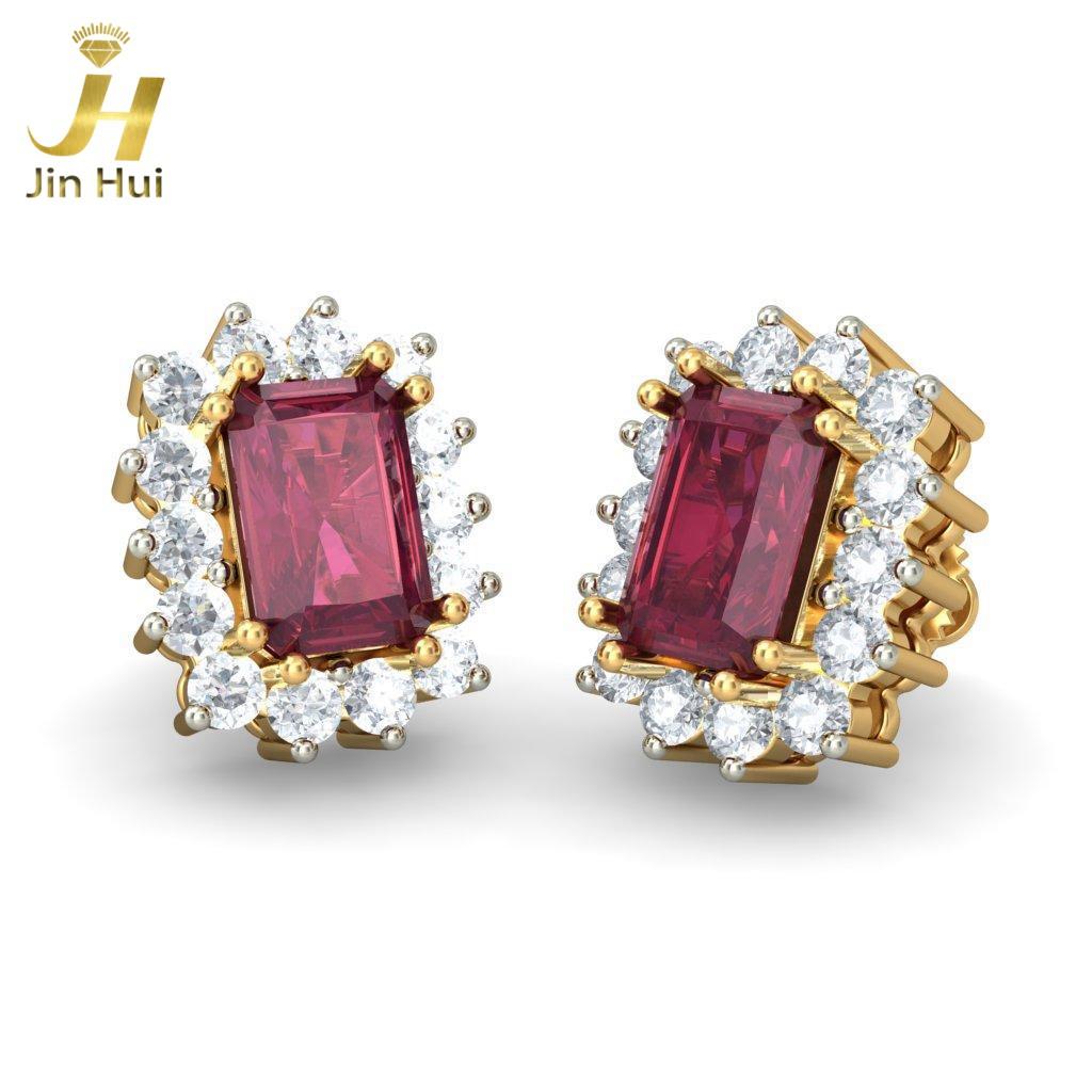 Jinhui 18K 750 0,504 CT JH-BS1786 jinhui dhwani 18k 750 0 08 jh bs4576