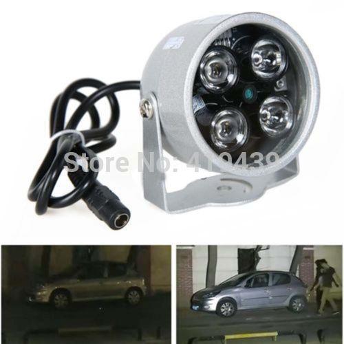 CCTV 4 LED Illuminator Light CCTV Security Camera IR Infrared Night Vision Lamp(China (Mainland))