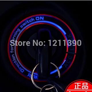 LED Car Ignition Key ring For Hyundai ix35 iX45 iX25 i20 i30 Sonata,Verna,Solaris,SantaFe,Elantra,Accent,Veracruz,Mistra,Tucson(China (Mainland))