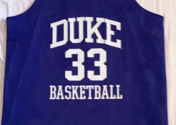Grant Hill #33 NCAA Duke Blue Devils Reversible Basketball Practice Jersey blue/white,Size S-XXL(China (Mainland))