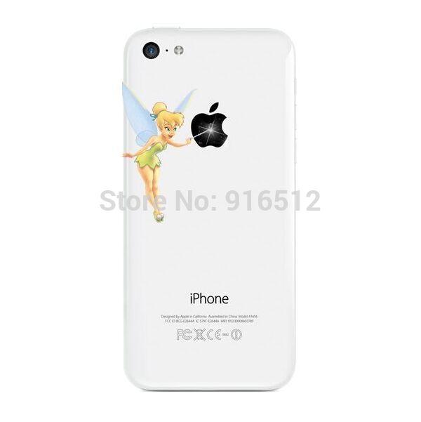 Чехол для для мобильных телефонов 0 Faries Tinkerbell iPhone 4 4S 5 5S 5C 6, 6 чехол для для мобильных телефонов crown diamond bling leather tpu case bling iphone 5 5c 6 6 for iphone 5 5c 6 6 plus