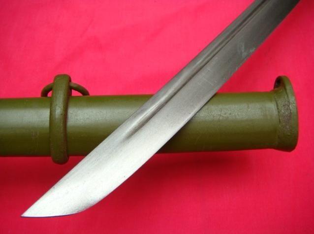 BRASS HANDLE JAPANESE SWORD KATANA STEEL SHEATH(China (Mainland))