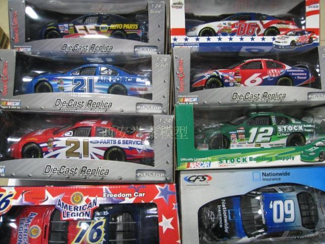 NASCAR 1/24 American Racing League NASCAR racing series various colors optional special(China (Mainland))