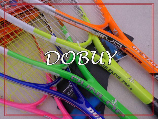 1 piece free shipping 100% brand new Squash rackets multicolor Brand squash rackets(China (Mainland))