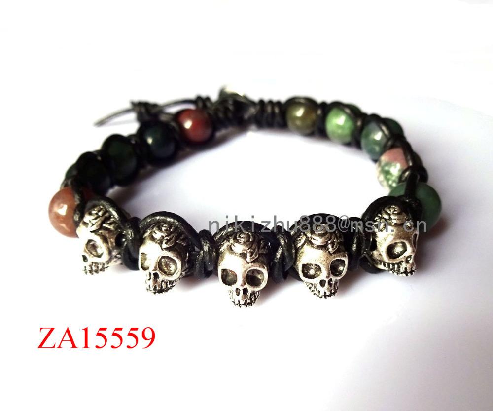 Skull Bracelet India Skull Charm Bracelet India
