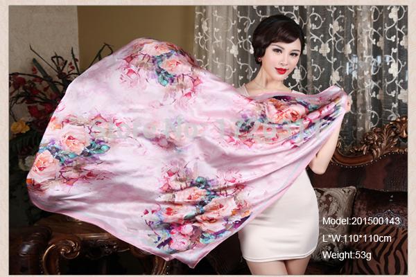 2015 Winter Women Warm Adult Scarf Fashion Silk Head Scarf(China (Mainland))