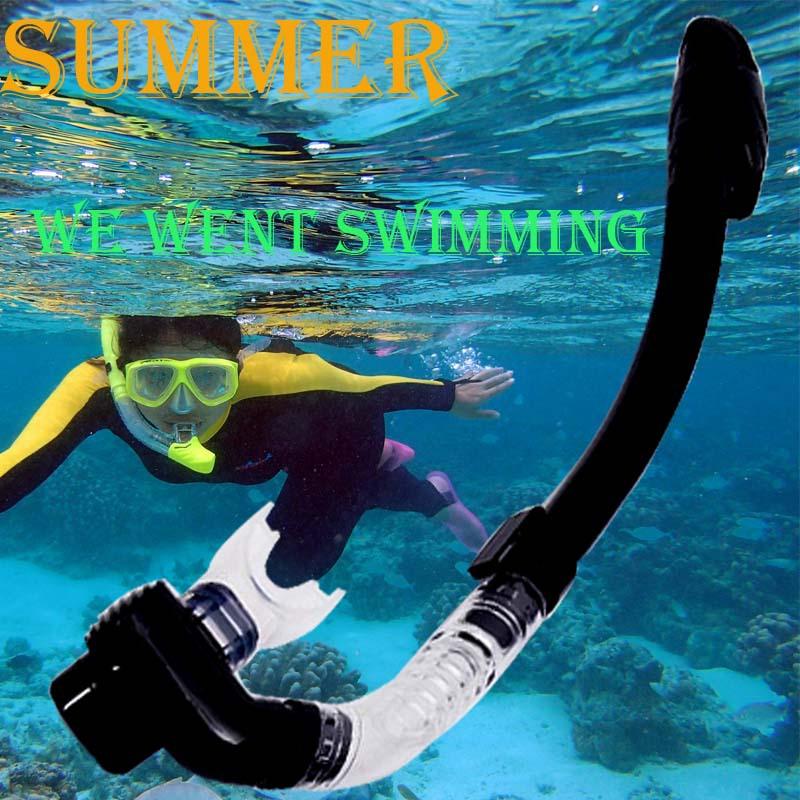 Трубка для плавания с маской под водой New  Diving Snorkel