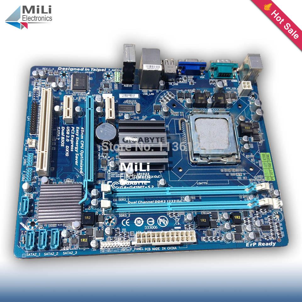 GA-G41MT-S2 LGA775 90% new for Gigabyte G41MT-S2 G41 Desktop motherboard 775 8G DDR3 Micro-ATX on sale(China (Mainland))