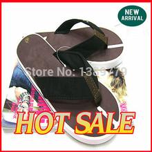 Gran oferta envío gratis 2015 de la playa del verano anuncios sandalias casuales chanclas sandalias sandalias cómodas no flip playa remolque colores 39-44(China (Mainland))