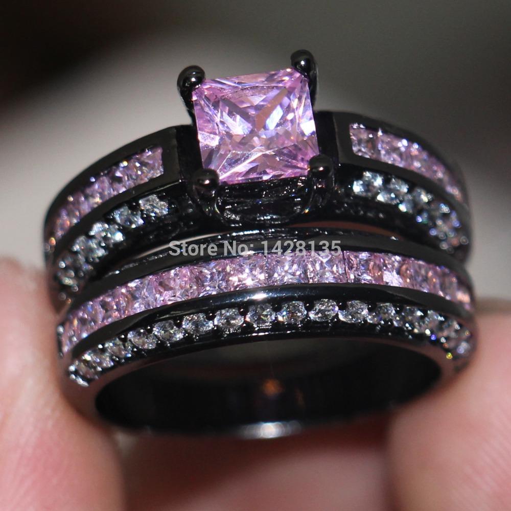 line Get Cheap Pink Wedding Rings Aliexpress