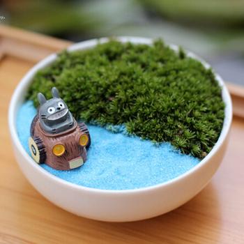 Продажа аниме фильм мой сосед тоторо мини орнамент миниатюры фея садовый гном мосс террариум домашнего декора ремесла бонсай домашнего декора