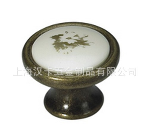 Bronze ceramic furniture drawer cabinet door handle can be installed(China (Mainland))