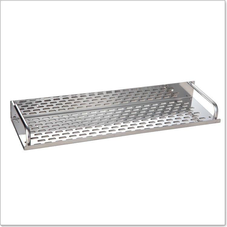 Organizador De Baño Acero Inoxidable:-de-baño-baño-de-acero-inoxidable-estante-de-almacenamiento-de