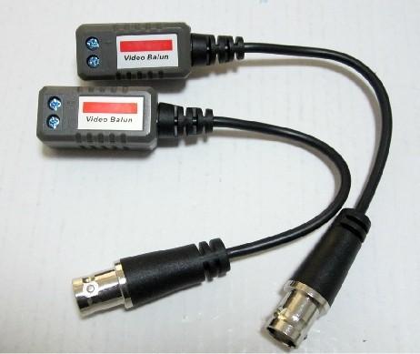 CCTV Video Balun passive Transceivers CCTV Camera BNC Video Balun Transceiver connector cctv balun video Transmitter(China (Mainland))