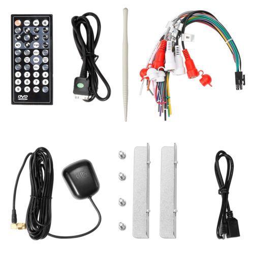 OEM Brand Universal 2 DIN Interchangeable Player GPS Navigation Car CD DVD player 7 Car Stereo