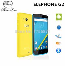 Free shipping Elephone G2 4.5 inch IPS MTK6732 Quad Core Andriod 5.0 4G FDD TDD LTE Cell Phone 1GB RAM 8GB ROM 8MP Dual Sim