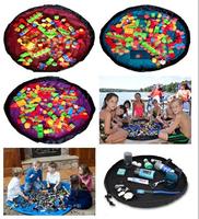 Medium Size 100CM  Kids toys mat Kid Toy Play Mat Organizer Storage Bag/Toy pad outdoor toys building block juggle toy bricks