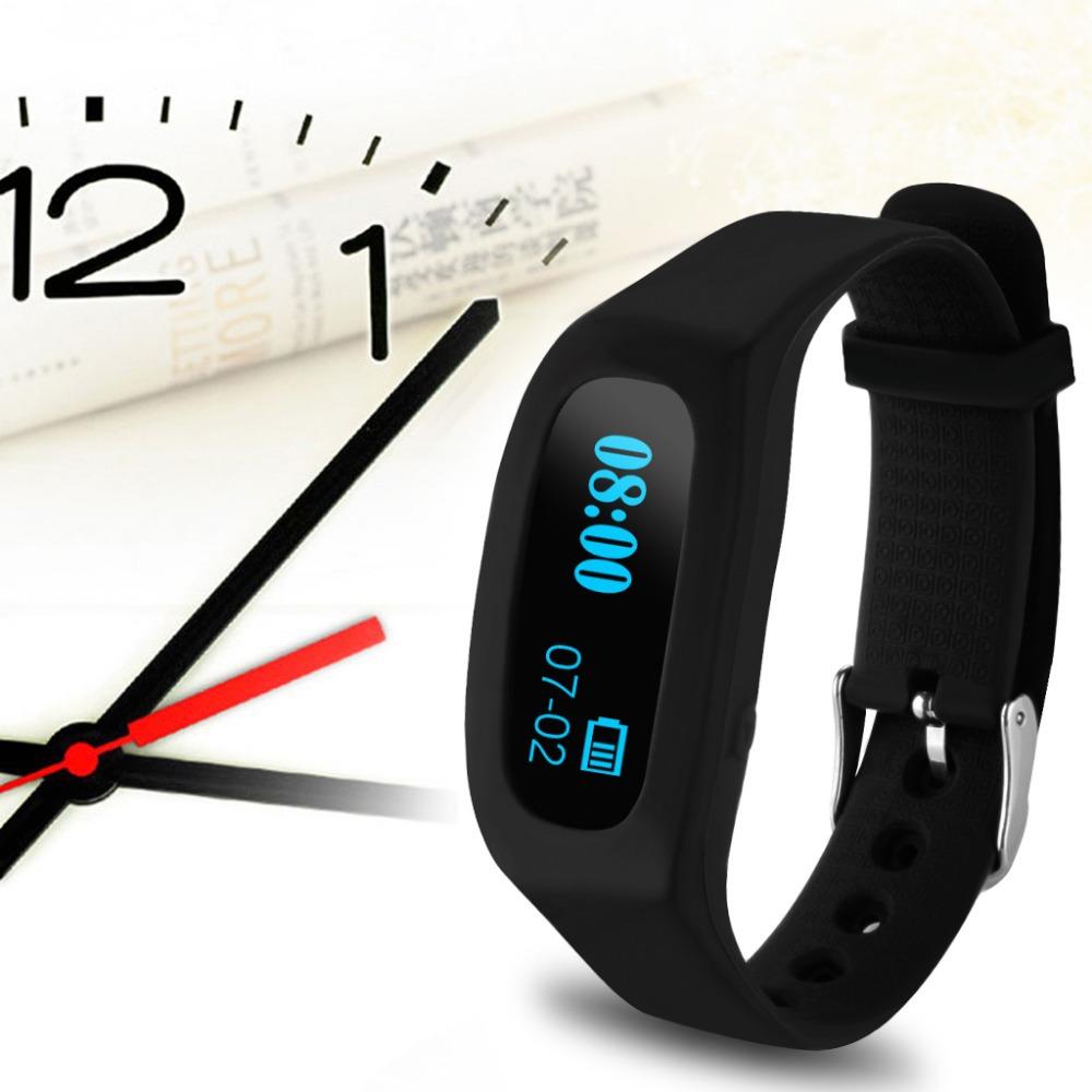 New Excelvan OLED Sport Bluetooth Smart Bracelet Watch 4.0 Pedometer Tracking Calorie Health Wristband Sleep Monitor(China (Mainland))