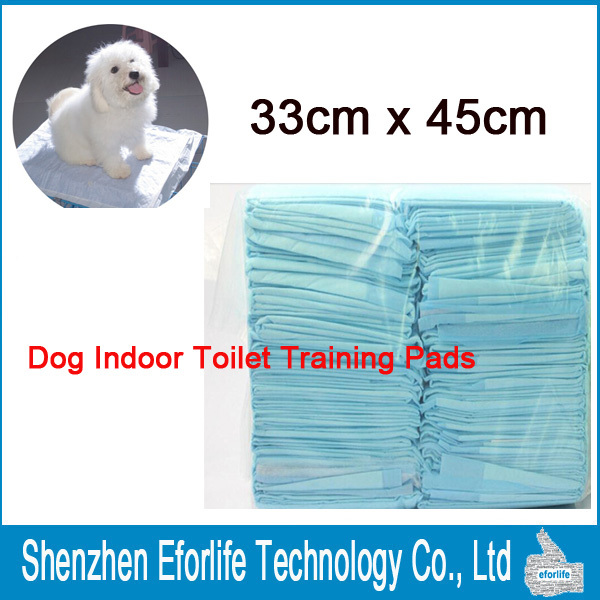 Super Absorbent Puppy Pet dog diapers Indoor Toilet Training Pads Pet Supplies Behavior Aids 33x45cm Underpads (China (Mainland))