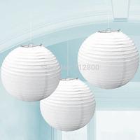 """10pcs/lot 4"""" Round Chinese Paper Lanterns Wedding Party DIY Round Lamp White 10cm"""