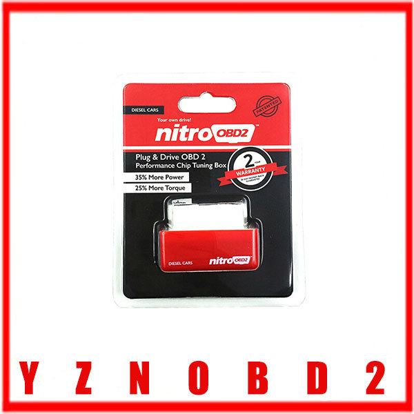 2015 New NitroOBD2 Diesel Car Chip Tuning Box Plug and Drive OBD2 Chip Tuning Box NitroOBD2 ore Power / More Torque(China (Mainland))