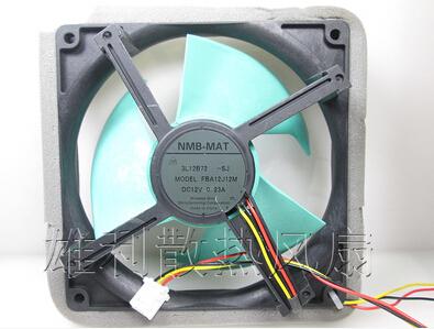 The original NMB-MAT FBA12J12M 12V 0.23A refrigerator cooling fan(China (Mainland))
