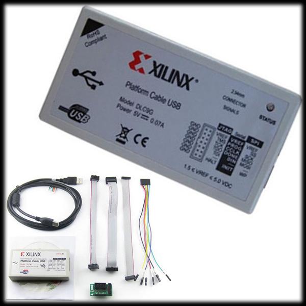 by DHL or EMS 20 pcs Xilinx Platform USB Download Cable Jtag Programmer(China (Mainland))