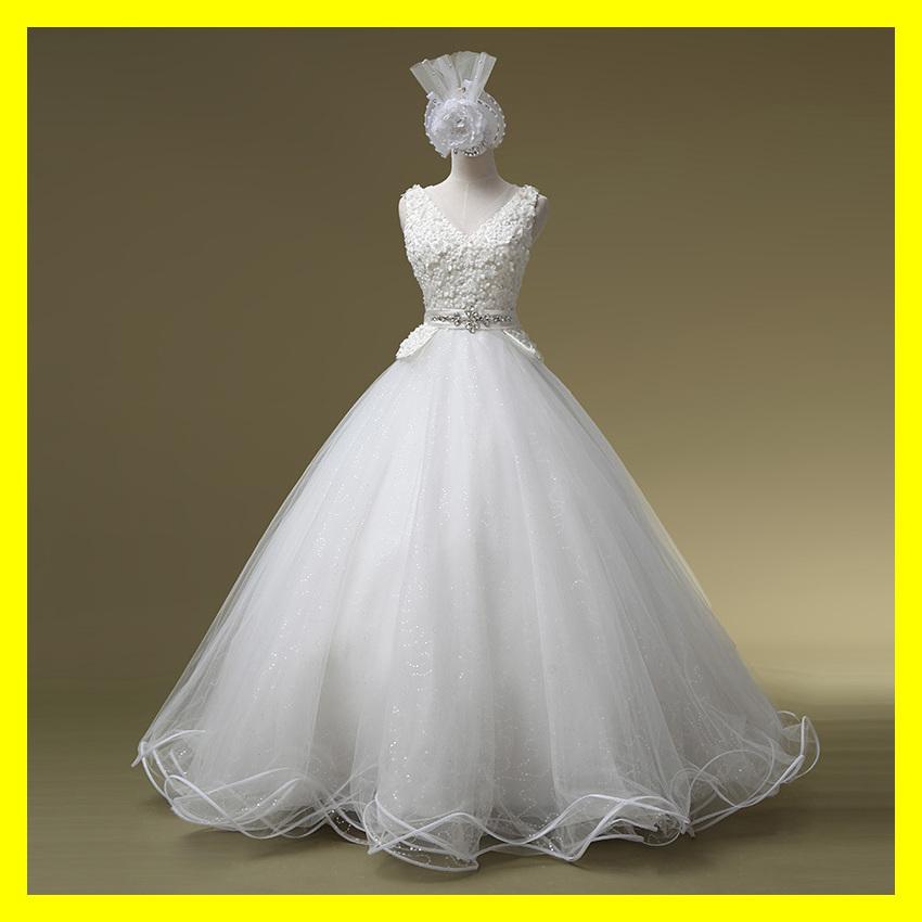 Cheap Beach Wedding Dresses Short Uk Gold Off White Dress China Princess Floor-Length None Flowers V-Neck Tan 2015 Free Shipping(China (Mainland))