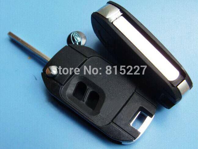 Free Shipping Remote Case Fob Housing 2 Buttons Modified Flip Folding Car Key Blank Shell For Subaru(China (Mainland))