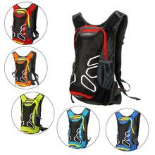 15L Waterproof Nylon Outdoor Hiking Camping Backpack Running Bicycle Bike Cycling Men's Travel Hydration Water Bag(China (Mainland))